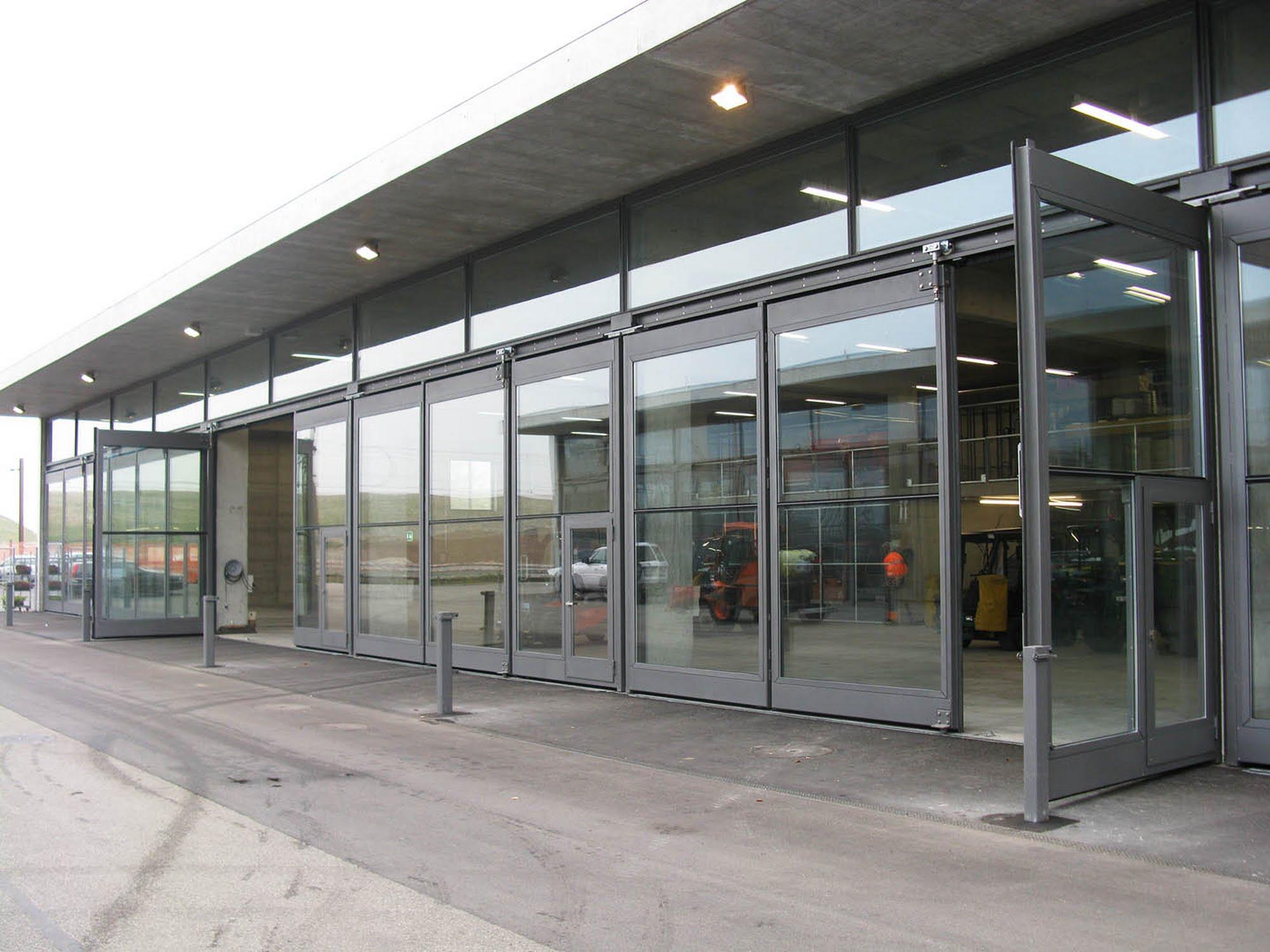 Falttore Feuerwehr + Werkhof Olten